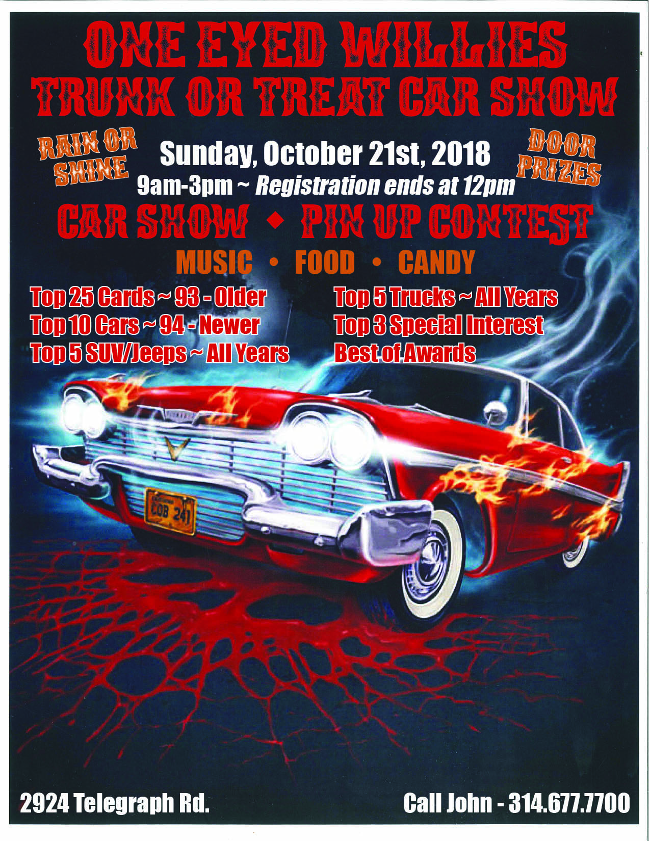 Mo IL Car Shows - Car show in branson mo 2018