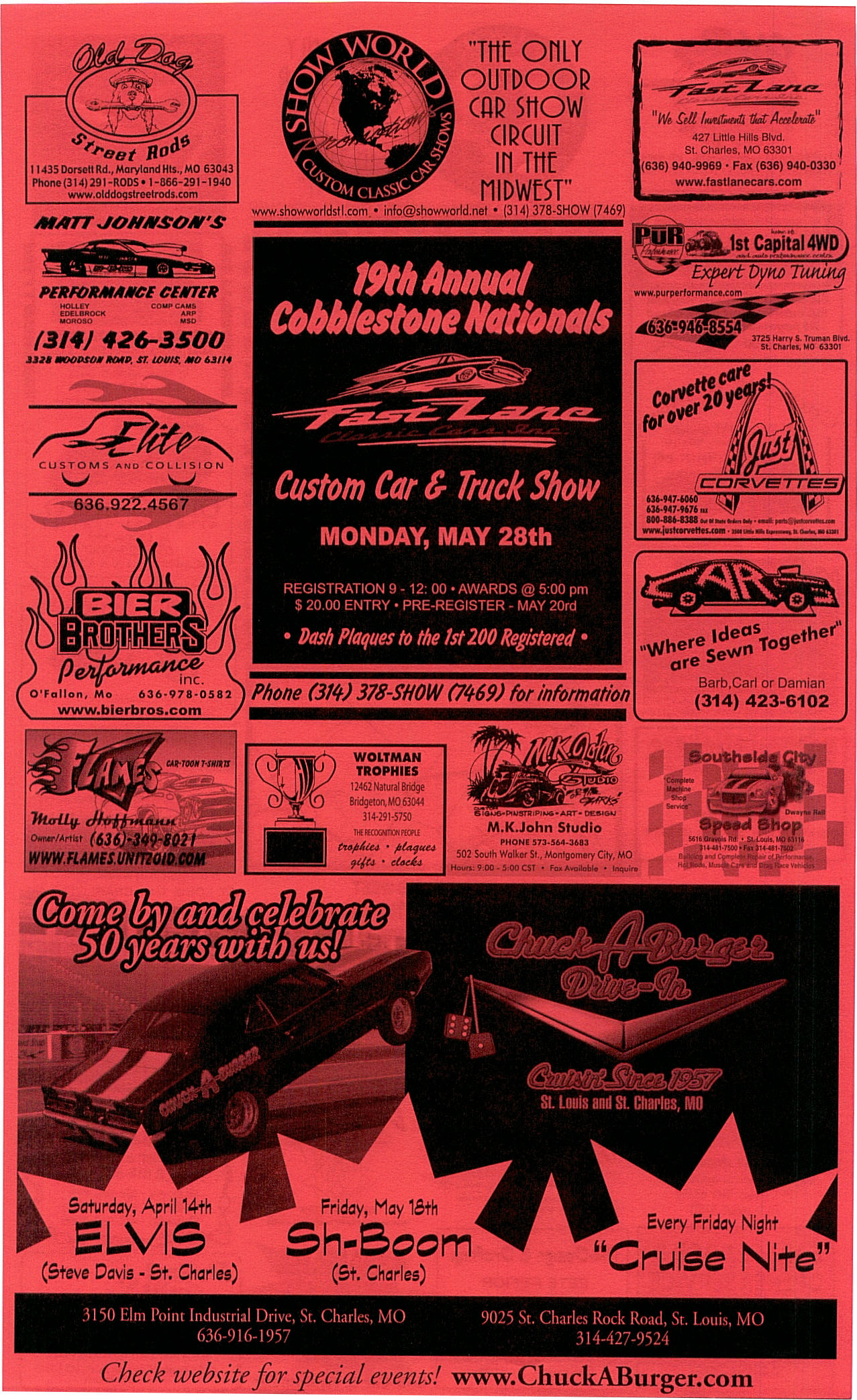 Cobblestone Nationals Car Show  Registration