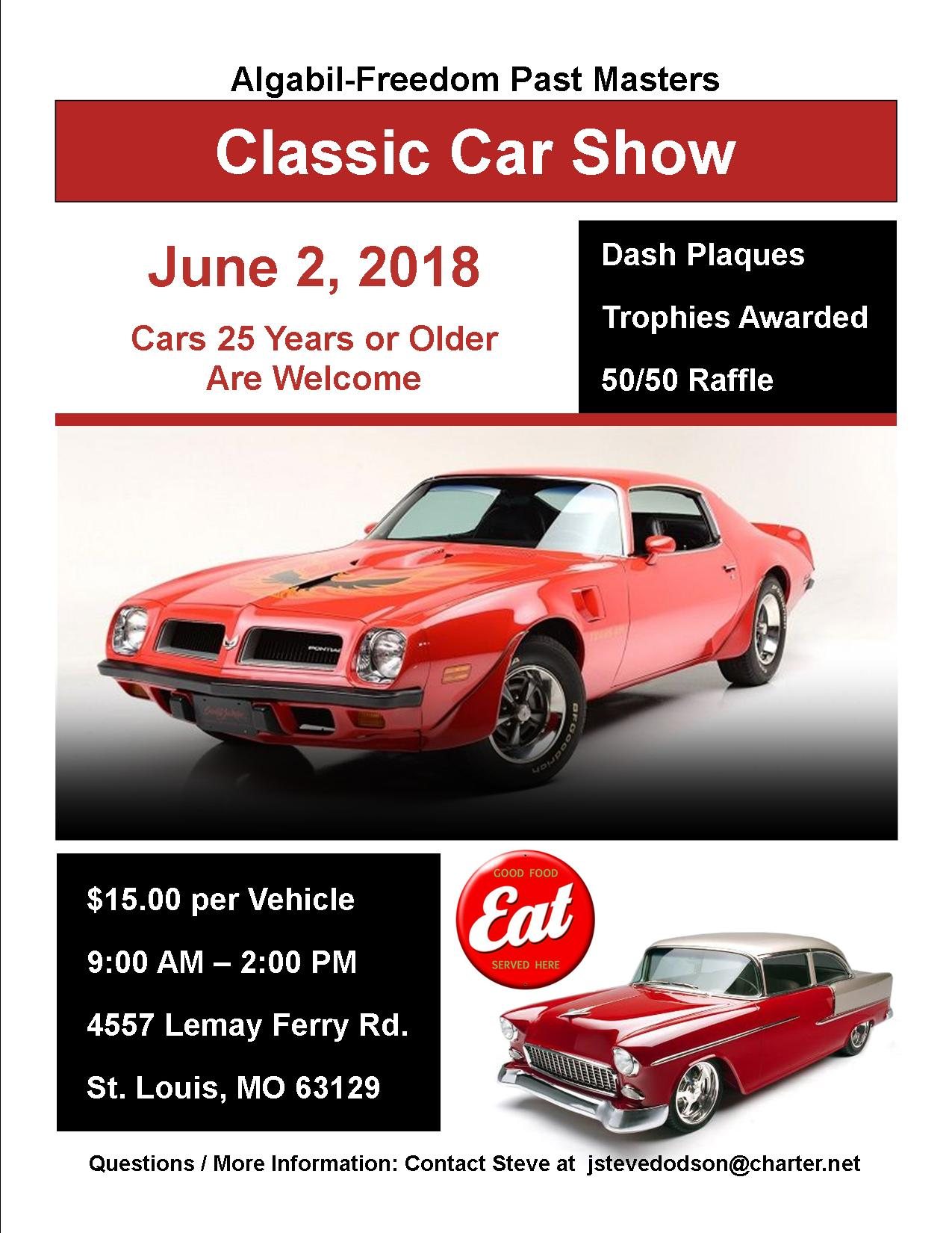 Mo IL Car Shows - St louis car shows